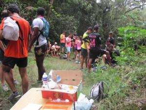 Nous avons accueilli 178 coureurs du district sud